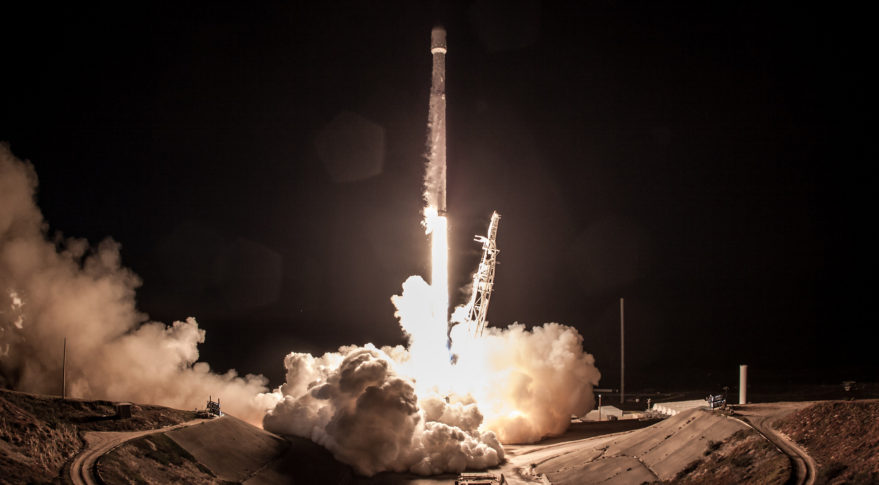 SpaceX Iridium Next Falcon 9