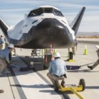 Sierra Nevada Corp.'s Dream Chaser at NASA's Armstrong Flight Research Center, Edwards, California. Credit: NASA