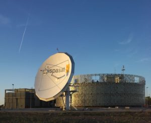 Hispasat's satellite control center. Credit: Hispasat
