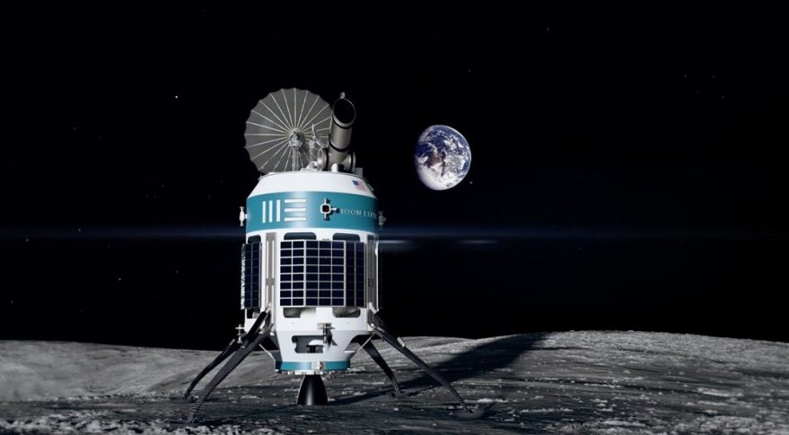 """""""By leveraging commercial launchers, orbiters, landers, and platforms, NASA will be able to explore and conduct science on the moon far more quickly and cost-effectively than if the agency was planning a more traditional exploration strategy,"""" writes Moon Express CEO Bob Richards. Credit: Moon Express"""