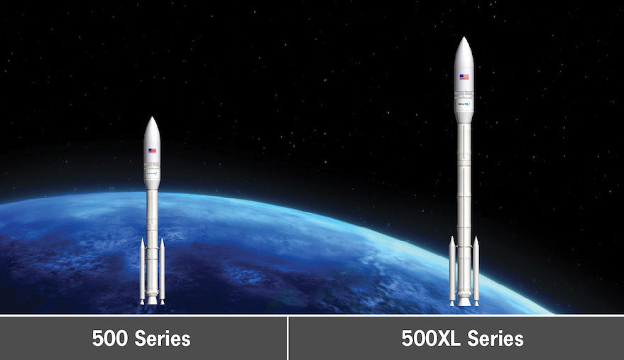 Orbital ATK intends to use variants of the OmegA rocket to launch intermediate to heavy-class payloads for U.S. national security customers. Credit: Orbital ATK