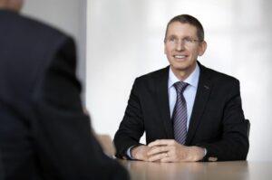 Ruag CEO  Peter Guggenbach. Credit: Ruag