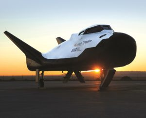Sierra Nevada is bringing its Dream Chaser  to the 34th National Space Symposium in Colorado Springs, Colorado, April 16-19. Credit: NASA