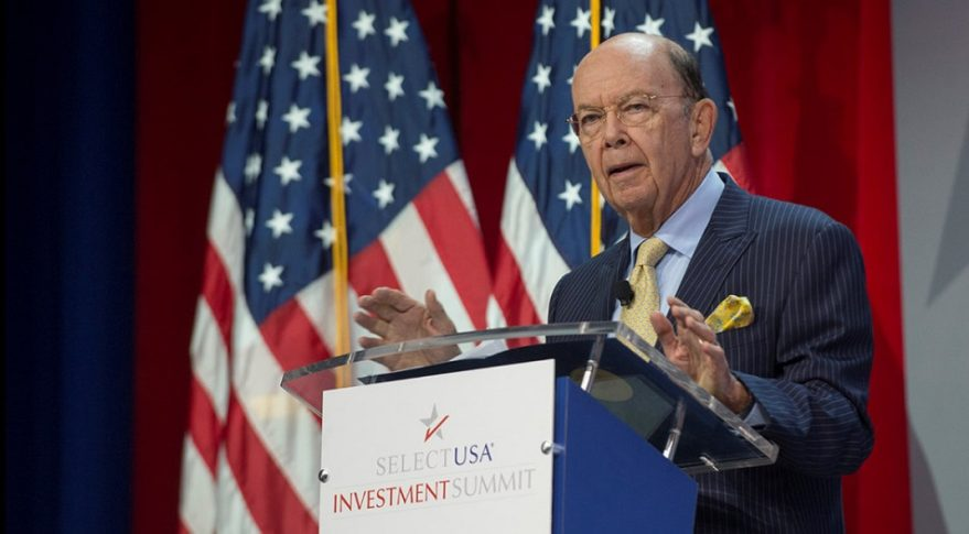 U.S. Commerce Secretary Wilbur Ross. Credit: Commerce Department