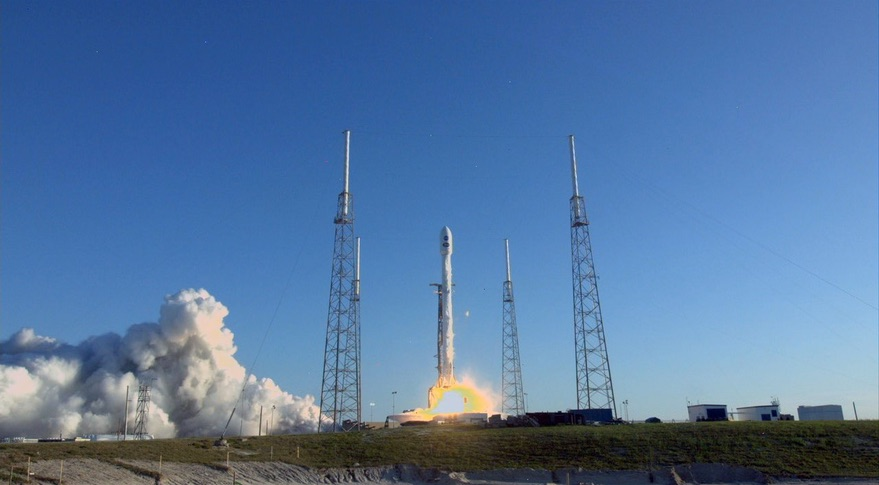 Falcon 9 TESS launch