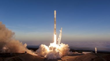 SpaceX Iridium-5 launch