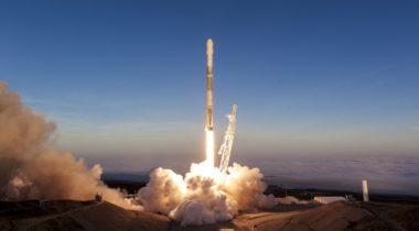 SpaceX Iridium-5 launch