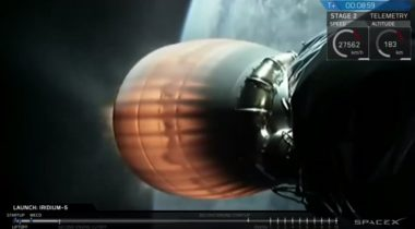 SpaceX webcast Iridium March 30