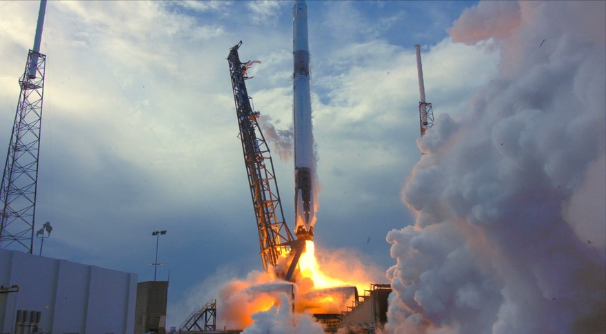 SpaceX launches shipment carrying Christmas cheer to ISS