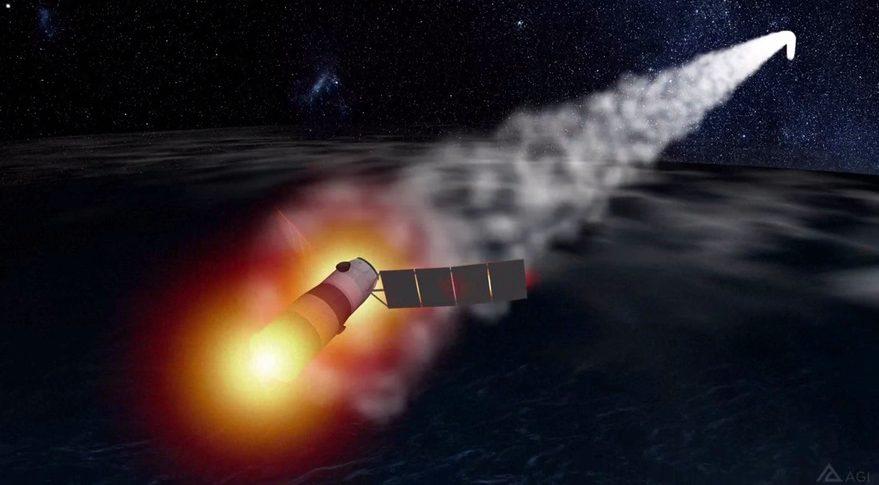 Tiangong-1 reentry