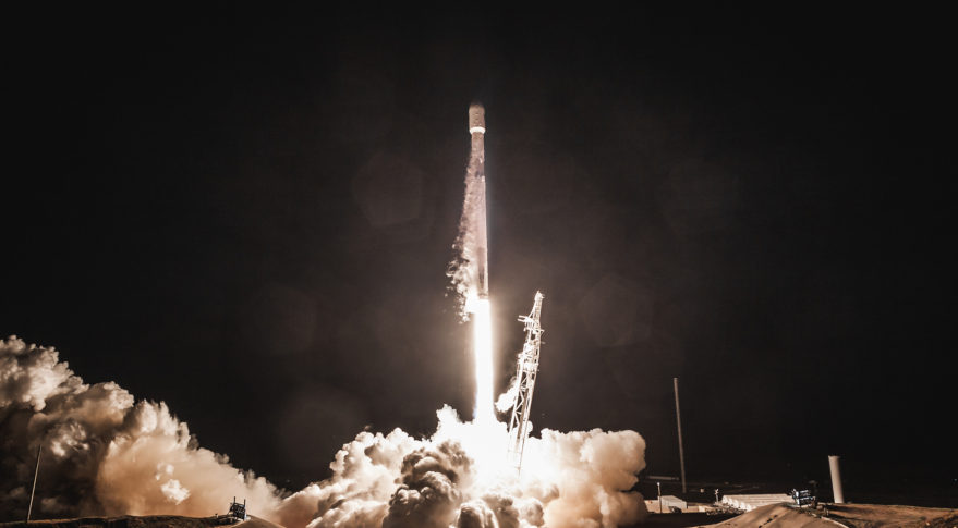 SpaceX Launches New Falcon-9 Rocket Intended for Upcoming Crewed Missions