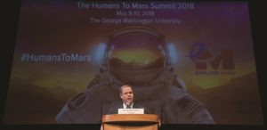 new nasa boss jim bridenstine faces his first challenge a balancing act between the moon and mars