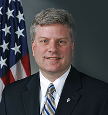 DARPA Director Steven Walker. Credit: U.S. Air Force Photo by Michael Pausic