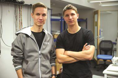 ICEYE's CFO Pekka Laurila (left) and CEO Rafal Modrzewski (right) met at Finland's Aalto University before founding ICEYE in 2014.
