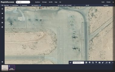 DigitalGlobe's new mid-tier service allows customers to plan imagery collections online. Credit: DigitalGlobe