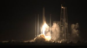 antares launches cygnus cargo spacecraft to iss
