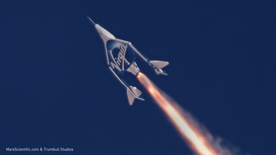 Boundary of space being reconsidered as Virgin Galactic test program advances