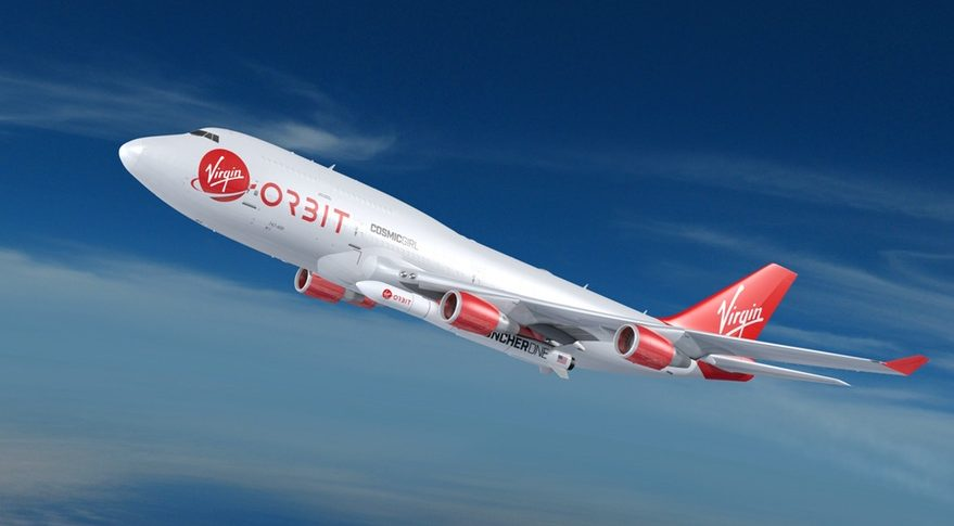 Virgin Orbit 747