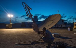 defense budget bill creates path for future network of military commercial communications satellites