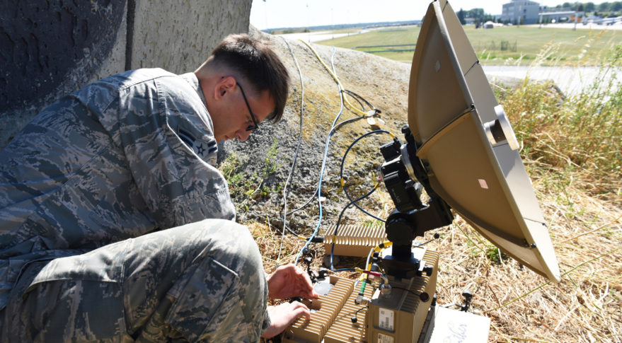 To predict the future of military satellite communications