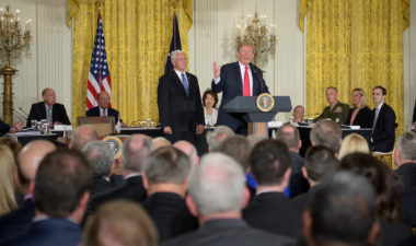 """We are going to have the Air Force, and we are going to have the Space Force. Separate but equal. It is going to be something,"" President Donald Trump said during a June 18 meeting of the National Space Council. ""I'm hereby directing the department of Defense and the Pentagon to immediately begin the process necessary to establish a Space Force as the sixth branch of the armed forces. That's a big statement."" Credit: NASA/Bill Ingalls"