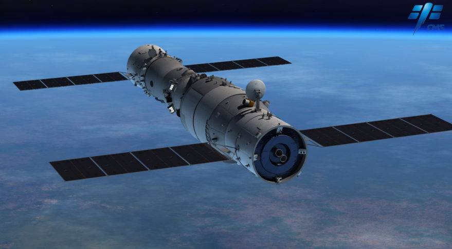 China appears to be preparing to deorbit its Tiangong-2 space lab ...