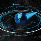 Audacy plans to send three large satellites into medium Earth orbit to relay communications from satellites, launch vehicles and crewed spacecraft to ground stations. Credit: Audacy