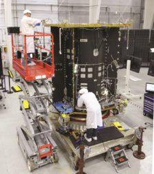 MEV-1 is being built at Orbital ATK's Dulles, Virginia, factory. Credit: Orbital ATK