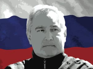 Dmitry Rogozin, head of Roscosmos. Credit:  SpaceNews photo illustration/KREMLIN.RU