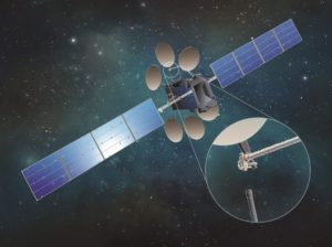 SSL's NASA-sponsored Dragonfly project aims to demonstrate how a satellite equipped with a robotic arm could assemble itself in orbit. Credit: SSL