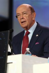 "The U.S. space sector is witnessing a ""convergence of technology, convergence of capital, and convergence of political will."" Wilbur Ross, U.S. Secretary of Commerce. Credit: Tom Kimmell for SpaceNews"