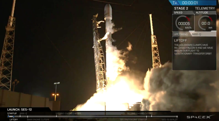 SpaceX Falcon 9 SES-12