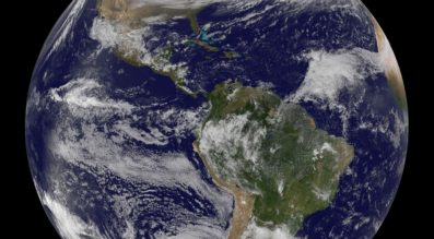 U.S. commercial remote sensing regulations will be put to the test by new ventures, such as EarthNow, a Bill Gates-and-SoftBank-backed venture that aims to distribute live video of the Earth. Credit: NASA's Epic camera aboard DSCOVR Satellite