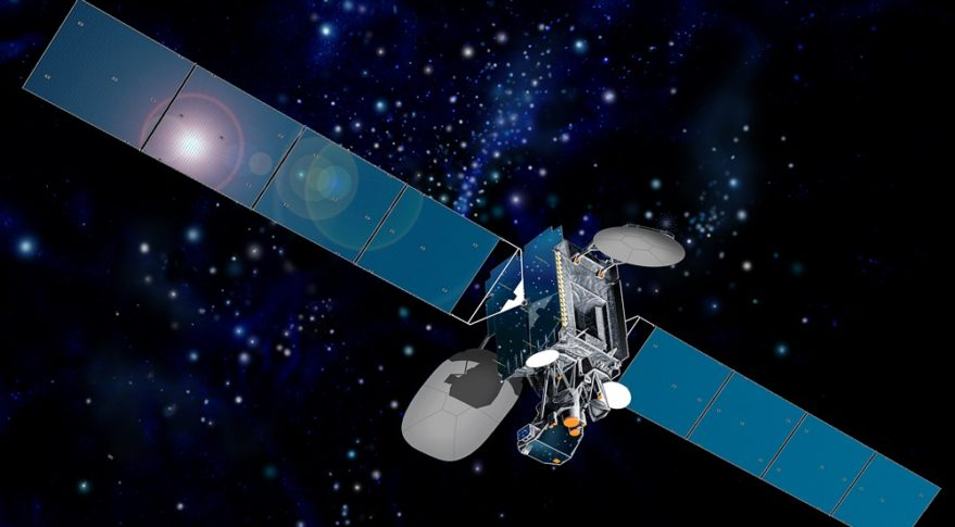 Launched in June 2001, Intelsat-901 is healthy but running low on fuel. MEV 1 aims to fix that. Credit: Intelsat