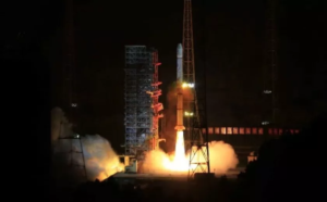 long march 3a rocket launches fengyun 2h meteorological satellite