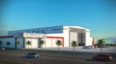 SpaceX KSC hangar