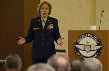 """Air Force Lt. Gen. VeraLinn """"Dash"""" Jamieson"""