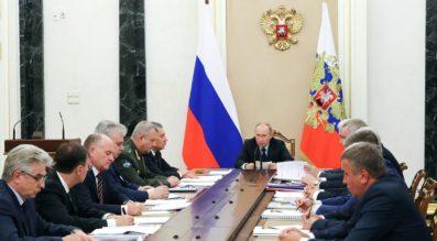 Putin Roscosmos Russia