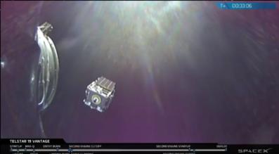 Telstar-19 Vantage SpaceX