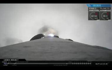 SpaceX Iridium7 Iridium Next