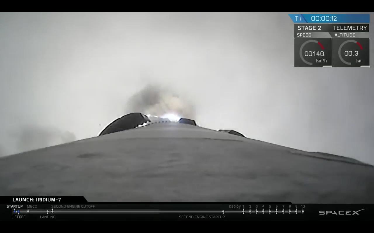 SpaceX Iridium7 Iridium Next
