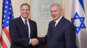 bridenstine visits israel on first foreign trip