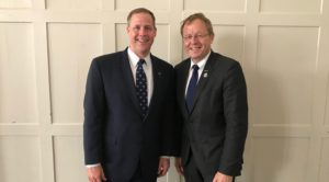 bridenstine discusses iss future exploration cooperation in europe