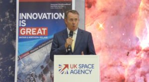 british government to promote space industry exports