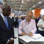 Virgin Orbit Cornwall signing
