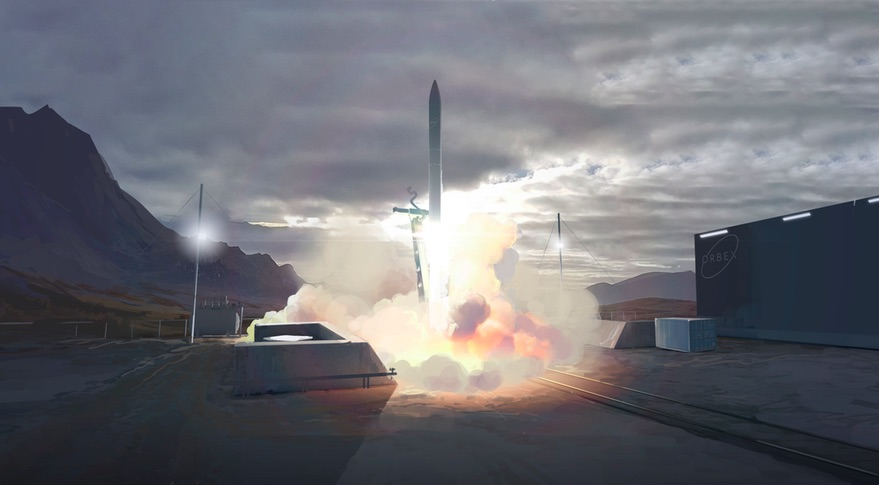 Orbex is developing Prime, a small launch vehicle it plans to launch from the Scotland spaceport. Credit: Orbex
