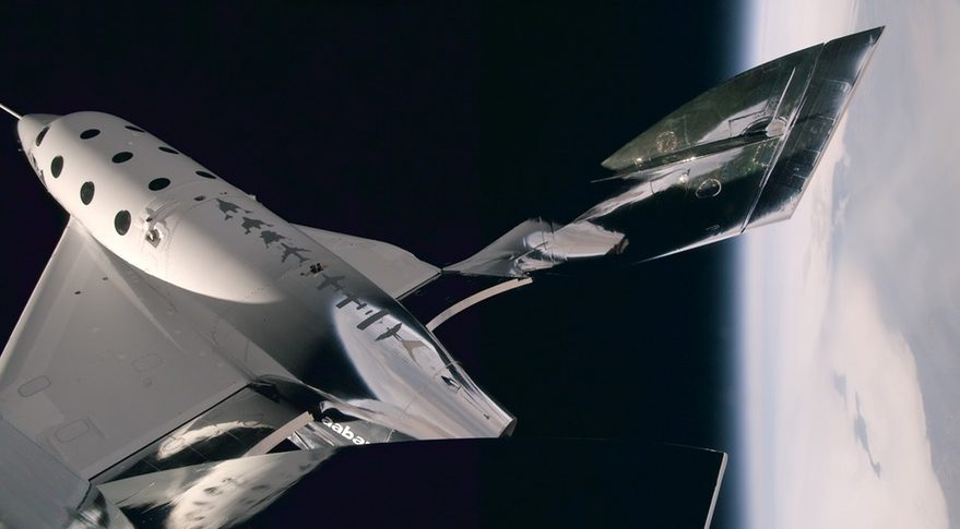 Virgin Galactic's SpaceShipTwo takes a step closer to space