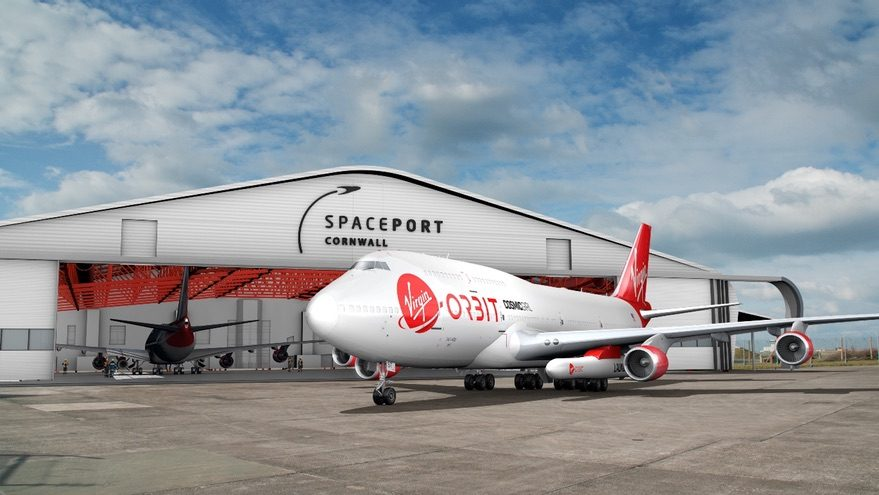 Spaceport Cornwall Virgin Orbit