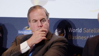 Iridium CEO Matt Desch at World Satellite Business Week. Credit: SpaceNews/Brian Berger