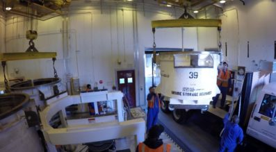 Northrop Grumman Completes First Live Motor Cast for OmegA Rocket_1